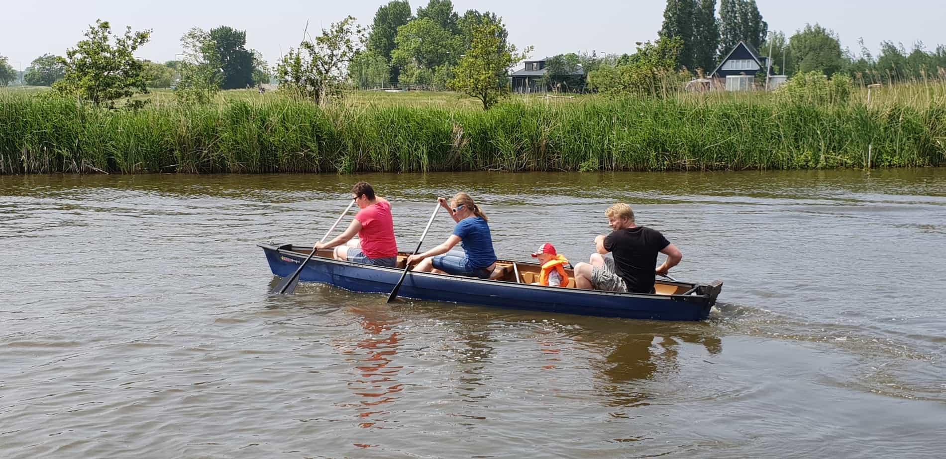 Kanoën bij Au Boulot