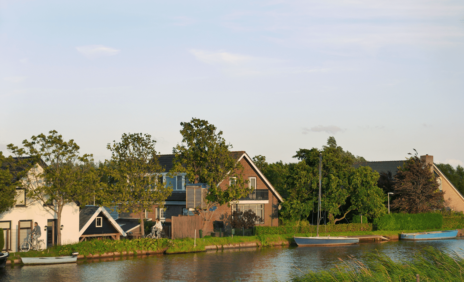 Het Au Boulot huis en omgeving